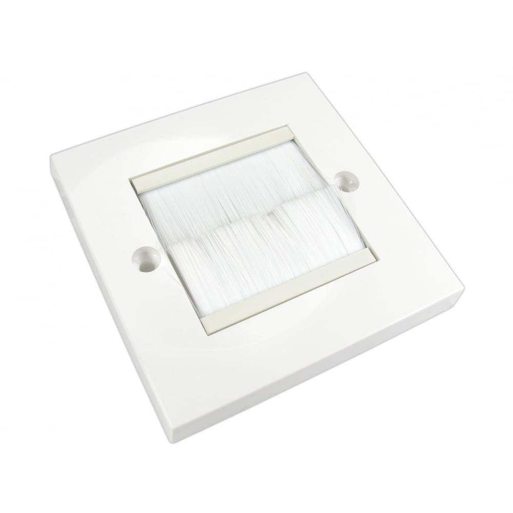 Brush Letter Box Wall Plates