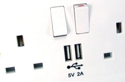 USB Charging Wall Plates