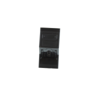 angled black usb type c module