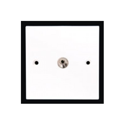 Single Gang 3.5mm Coupler Wall Plate. Plug and Play