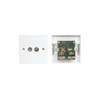 Single Gang Tv And Satellite Wall Plate Pcb Board