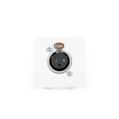 White Xlr 3 Pin Female To Solder Euro Module
