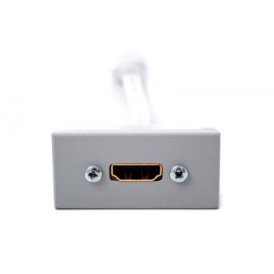 4K HDMI Grey Euro Module