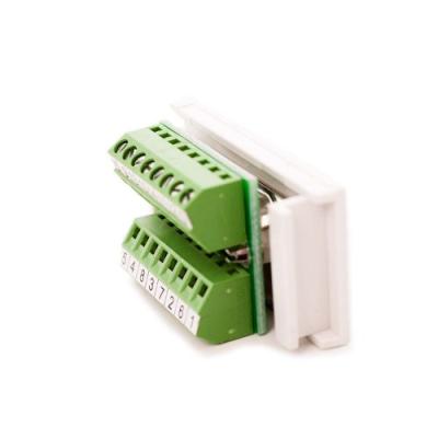 VGA Euro Module. Screw Terminal Horizontal Modular PCB. 25 x 50mm