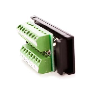 Black VGA Screw Terminal Module, Horizontal PCB