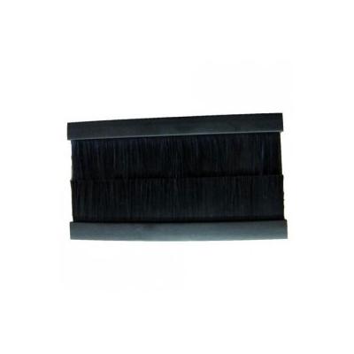 Black Brush Insert Euro Module. 100x50mm