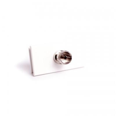 White TV Solder Euro Module. 25 x 50mm