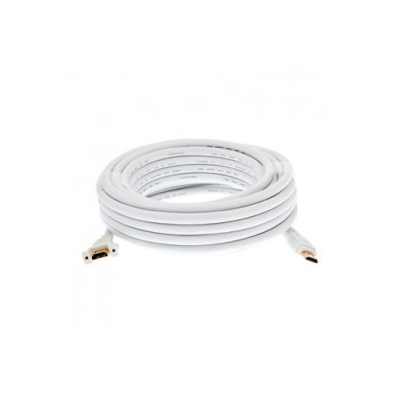 6m HDMI Panel-Mount Extension Cable - HDMI2.0 High Speed with Ethernet