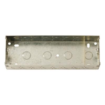 8 Gang 47mm Depth Metal Back Box