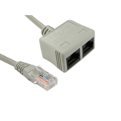 RJ45 CAT5E Economiser - Data/Data (UTP)