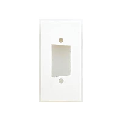 White Blank SVGA Euro Module. 25x50mm