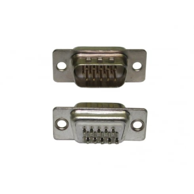 HD15 Male Plug Connector (Solder Type)