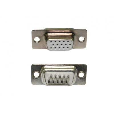 HD15 Female Socket Connector (Solder Type)