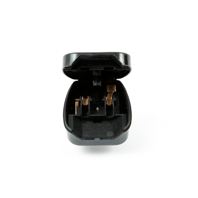 CEE7 Europlug to UK Converter Plug (Hinged Lid)
