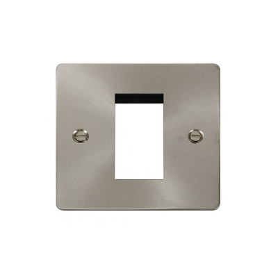Brushed Stainless Steel Euro Module Frame