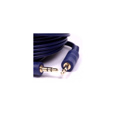 20m 3.5mm Stereo Audio Cable - Blue