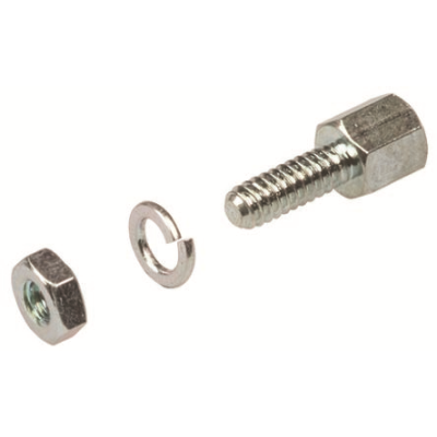 8mm Pair Female UNC 4-40 Screwlock for D Connector