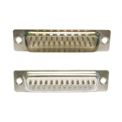 D25 Male Plug Connector (Solder Type)