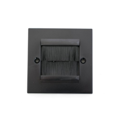 SG Brush Wall Plate Black Frame  Brushes