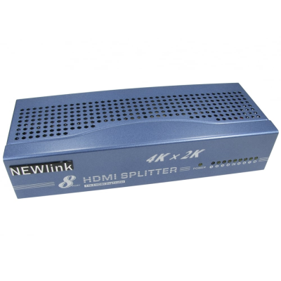 4K HDMI 8 Port Splitter (1 In 8 Out)