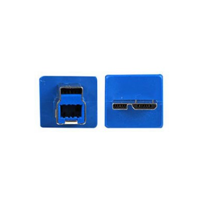 B Male to Micro Male 3.0 USB Adaptor