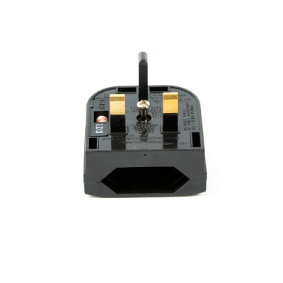 Euro to UK Quickfit converter plug (CP1)