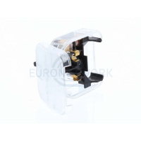 Euro to UK converter plug Clear 3 AMP (ECP)