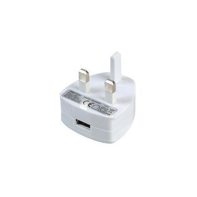 White One port USB charger (2.1 Amp)
