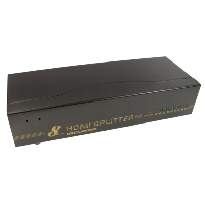 8 Port HDMI Splitter with 3D support (1 In 8 Out)