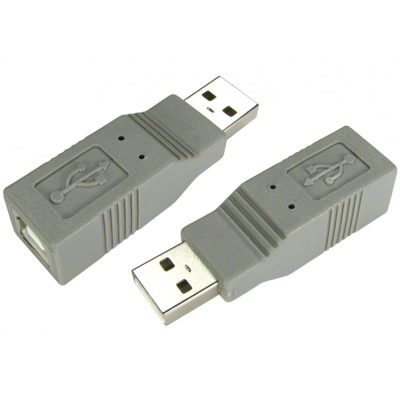 USB2.0 Adaptor - Type A (M) to Type B (F)