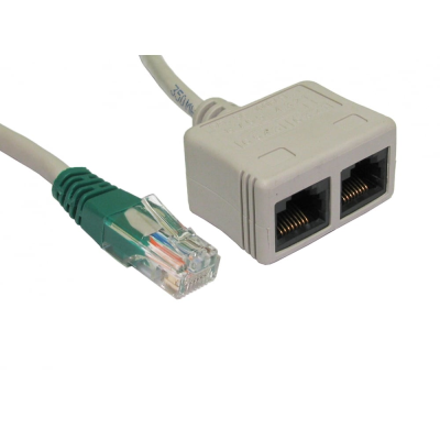 RJ45 CAT5E Economiser - Data/Voice