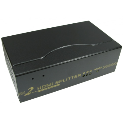 2 Port HDMI Splitter with 3D support (1 In 2 Out)
