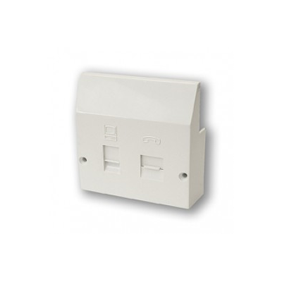 ADSL / Broadband Filter Plug-In Wall Plate