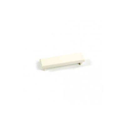 White 12.5 x 50mm Blank Euro Module.