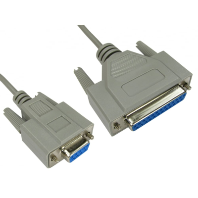 2M D9 To D25 Null Modem Lead| EuroNetwork