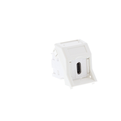 LJ6C White USB Type C Euro Module