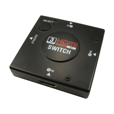 3 to 1 Mini HDMI V1.3 Auto Switch  (3 In 1 Out)