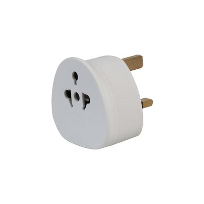 White Worldwide to UK Travel Plug