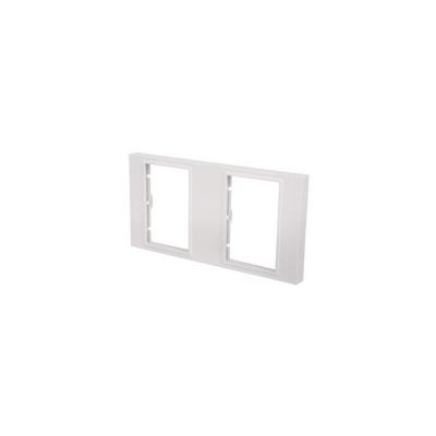 AV Link Module: Double Gang Frame. Fits 6 Euro Modules