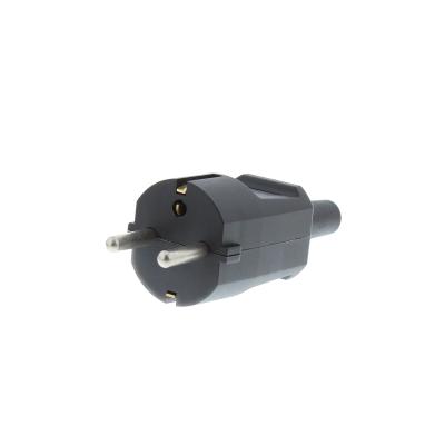 Rewireable European Schuko Plug. 16A CEE7/7