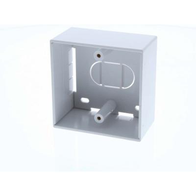 45mm Deep - Single Gang Plastic Back Box (Surface Mount)