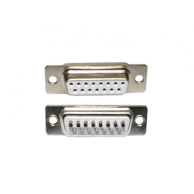 D15 Female Socket Connector (Solder Type)