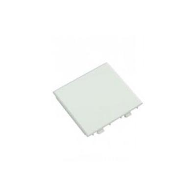 White 50x50mm Blank Euro Module.
