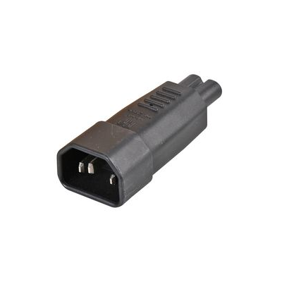 IEC C14 Male to Figure 8 Power Adaptor