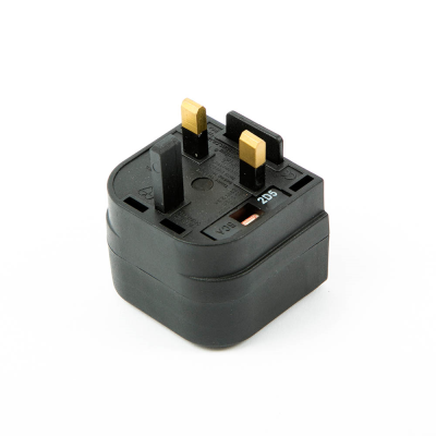 European to UK Converter Plug.  Battery Charger Adaptor (BCA)