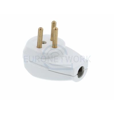 Israeli Rewireable Plug. 16A 250V