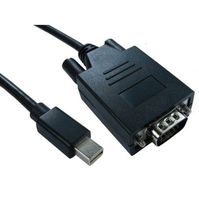 1m Mini DisplayPort Male to SVGA Male