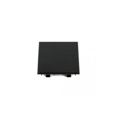Black 50x50mm Blank Euro Module.