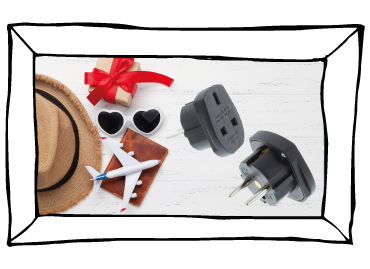 Are you travelling this Valentines' Day? Travel plug-related mistakes to avoid...