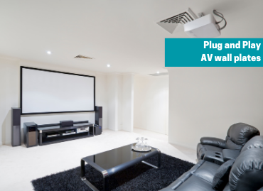 Deciding what you need on your EuroNetwork plug and play AV wall plate
